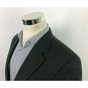 Jos A Bank Gray Sport Coat 2 Button Blazer 38R